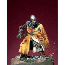 Figurine de chevalier fin du XIIIème siècle Romeo Models 54mm.