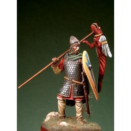 Figurine de guerrier Normand en 1066, Romeo Models 54mm.