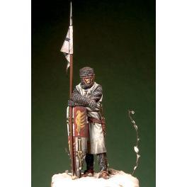 Figurine de Chevalier Teutonique XIIIème siècle Romeo Models 54mm.