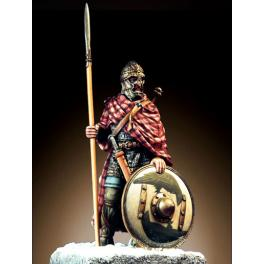 Figurine de guerrier Saxon du VIIème siècle.Romeo Models 54mm.