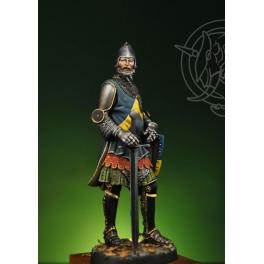 Figure kits.English Knight XIV Century75mm  Romeo Models.