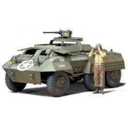 M20 de l'armée Américaine - Maquette Tamiya au 1/35e. 14cm x 7cm.