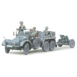 Krupp Protze et PaK 3,7cm- Maquette Tamiya au 1/35e.