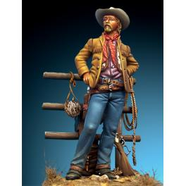 Figurine de Cowboy 54mm Romeo Models.
