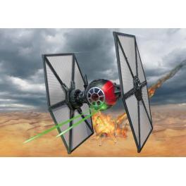Maquette du Tie Fighter des forces spéciales easy kits.