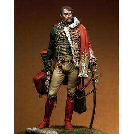 Figurine 90mm Pegaso de Chasseur à Cheval de la Garde.