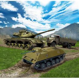 Maquettes de véhicules Bundeswehr 144ème Revell.