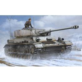 Maquette de char Allemand Pz.Beob. Wg IV Ausf. J au 1/16ème Trumpeter.