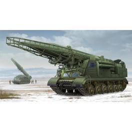 Maquette de lance missiles Type 2P19 au 1/35ème Trumpeter.