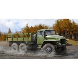 Maquette du URAL-375D camion Soviétique 1/35ème Trumpeter.