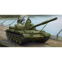 Maquette de T-62, char Soviétique au 1/35ème Trumpeter.