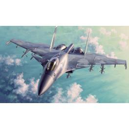 Maquette Sukhoi Su-33 au 35ème Trumpeter.