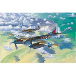 De Havilland Hornet, maquette au 1/48ème Trumpeter.
