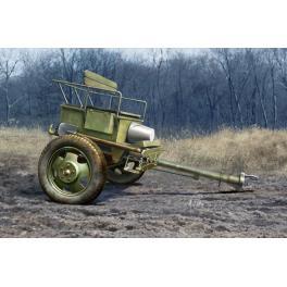 Caisson de train D'artillerie Soviétique 52-R au 35ème Trumpeter.