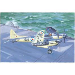 De Havilland sea Hornet au 1/48ème Trumpeter.