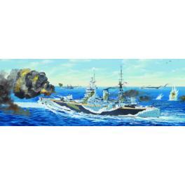 HMS RODNEY - CUIRASSE BRITANNIQUE 1941 au 1/200ème Trumpeter.