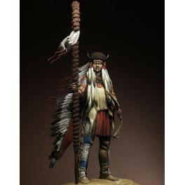 "Figurine 75mm Pegaso Models, "" Medicine Man""."