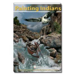 """Manuel  de peinture """" Les Indiens"""" 44 pages Andrea Miniatures."""