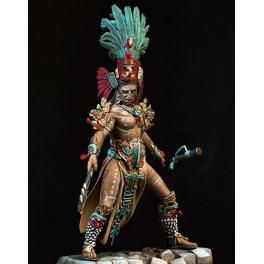 Guerrier Maya Pegaso models, figurine 75mm.