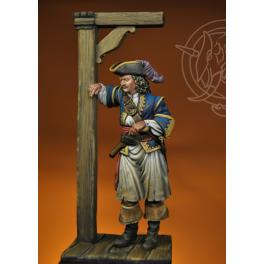 Roche Braziliano, boucanier en 1668 Romeo Models 75mm.