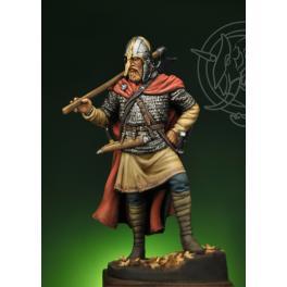 Guerrier du 8-9ème siècle 75mm Romeo Models.