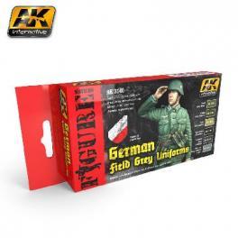 Vert de gris armée Allemande 2ème GM AK interactive
