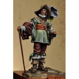 Figurine de Athos en 75mm Alexandro Models