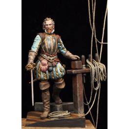 Sir Francis Drake 75mm Alexandros Models.