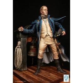 Capitaine de la Royal Navy en 1805, Figurine Alexandros Models 75mm