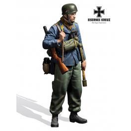 Figurine de Parachutiste Allemand 54mm Andrea