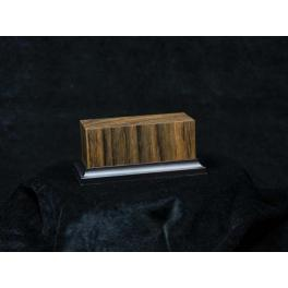 105x45x50mm base de bois dur Ovangkol