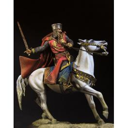 Figurine de Richard Coeur de Lion 90mm