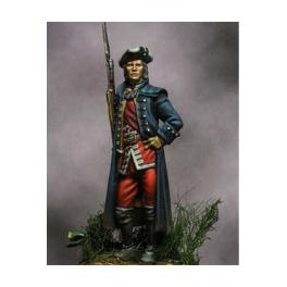 Beneito miniatures,54mm.English officer, 13th, Culloden, 1746. Metal figure kits.