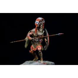 Hoplite grecque figurine 75mm Pegaso Models