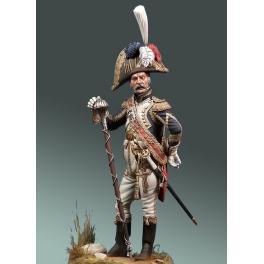 Figurine Tambour - major de la Garde impériale 1810