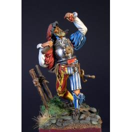 Masterclass-54mm,Landsknecht on the march figure kits.