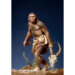 Figurine de l'Homme de Neanderthal 54mm Pegaso Models