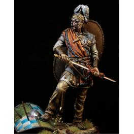 Figurine de guerrier Celte en 75mm Pegaso Models