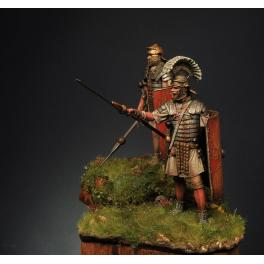 Romeo Models 75mm, Roman Legionary 1st Century A.D. figure kits.