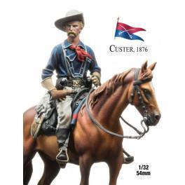 Figurine de Custer 1876 54mm Andrea Miniatures