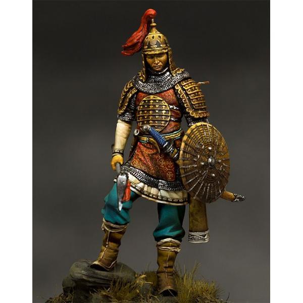 Figurine de guerreier Mongol du XIII-XIVème siècle 75  Pegaso Models.