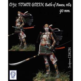 Figurine 90mm de TOMOE GOZEN en 1184 Alexandros Models