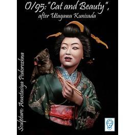 Buste de geisha 200mm Alexandro Models.