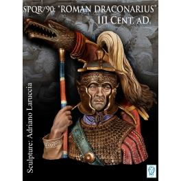 Buste de DRACONARIUS Romain, III siècle aptrés JC 200 mm Alexandros Models.