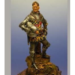 Figurine de Chevalier du XIVème siècle 54mm Crécy Models.