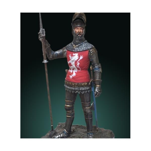 Figurine de Chevalier du XVème siècle 75mm Crécy Models.
