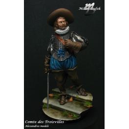 Figurine 75mm de Mousquetaire Alexandros Models