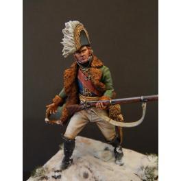 Le Maréchal Ney, Russie 1812 en 75mm figurine Alexandros Models.