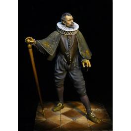 Figurine de HENRI III DE VALOIS ROI DE FRANCE EN 1580 75mm Masterclass.