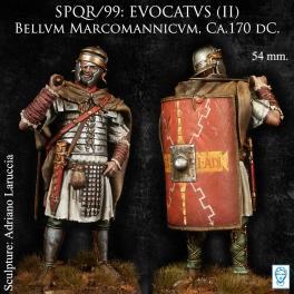 Figurine de EVOCATVS(II) Bellvm Marcomannicvm, Ca.170 avant JC.